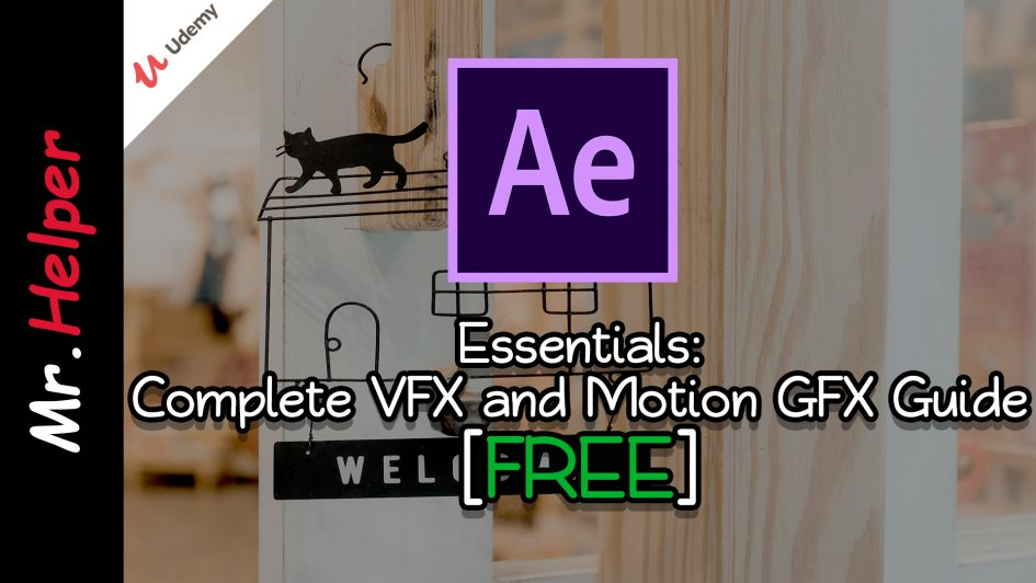 Udemy - FREE After Effects Essentials Complete VFX and Motion GFX Guide - Featured Image