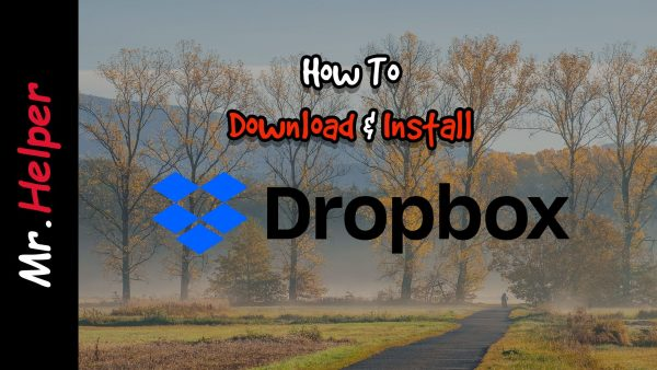 How To Download & Install Dropbox Featured Image