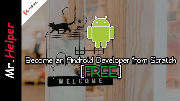 Udemy - FREE - Become an Android Developer from Scratch Featured Image