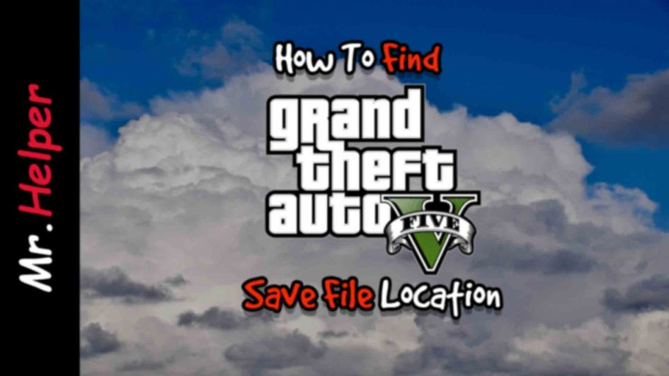 How To Find GTA 5 Save File Location Featured Image