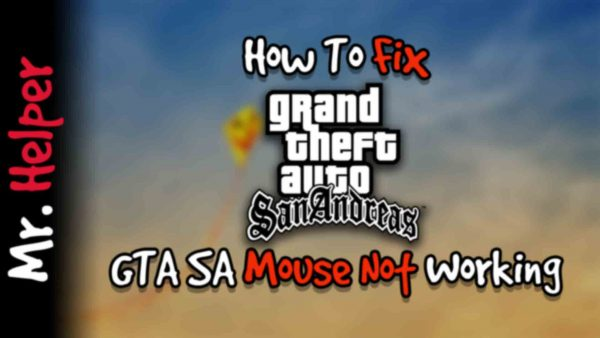 How To Fix GTA San Andreas Mouse Not Working Featured Image