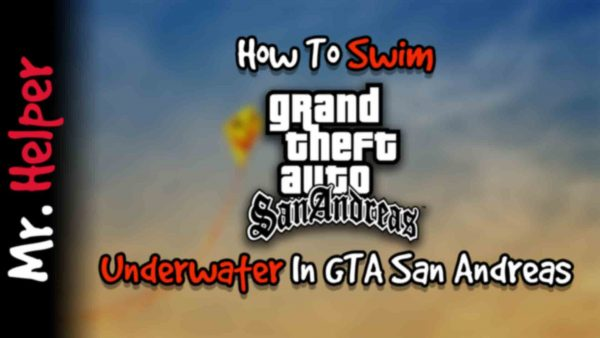 How To Swim Underwater in GTA San Andreas Featured Image