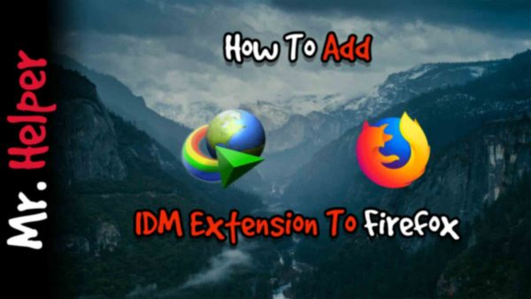 How To Add IDM Extension To Firefox Featured Image