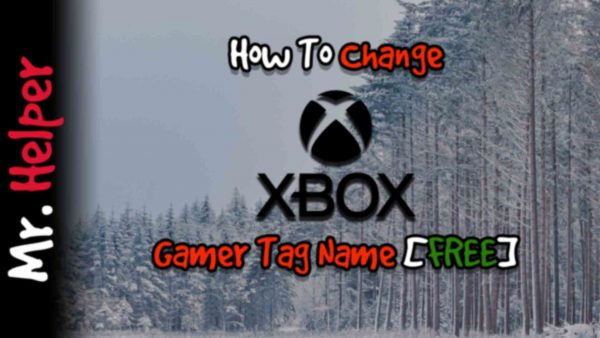 How To Change Xbox Gamer Tag Name Featured Image