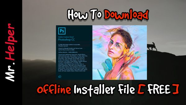 How To Download Adobe Photoshop CC Offline Installer File Featured Image