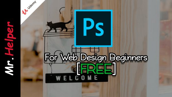 Udemy - FREE Adobe Photoshop for Web Design Beginners Featured Image