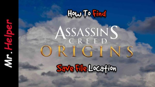 How To Find Assassin's Creed Origins Save File Location Featured Image