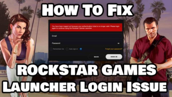 How To Fix Rockstar Games Launcher Login Issue Featured Image